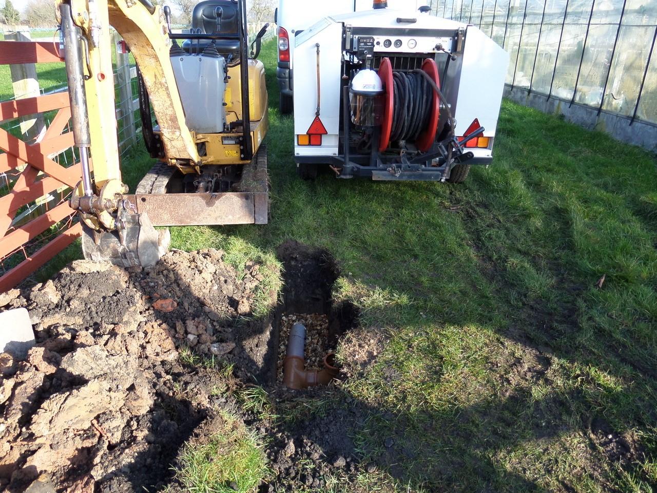 drain excavations